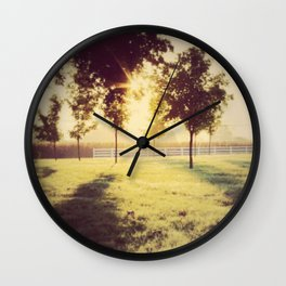 Lancaster sunrise Wall Clock