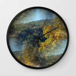 Fall Colors in another galaxy... Wall Clock
