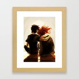 hey brother Framed Art Print