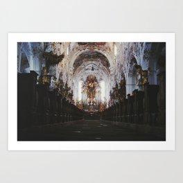 German Cathedral Art Print