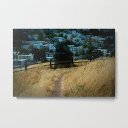Kite Hill Specter - San Francisco Metal Print