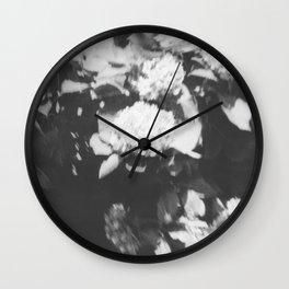 Mission Hill in black Wall Clock