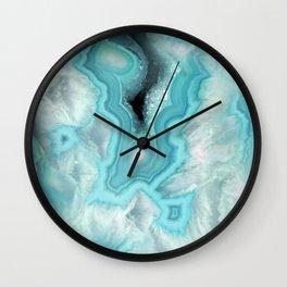 Aqua Sea Stone Wall Clock