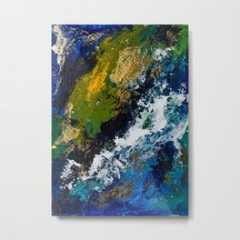 Planet Earth- 1 Metal Print
