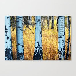 Look to the LORD Canvas Print