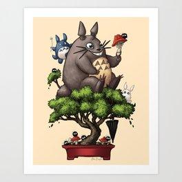 Forest Guardian Bonsai  Art Print