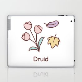 Cute Dungeons and Dragons Druid class Laptop & iPad Skin