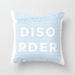 Disorder Throw Pillow