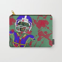Zombie Football Player Carry-All Pouch