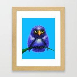 Little Bluebird Framed Art Print