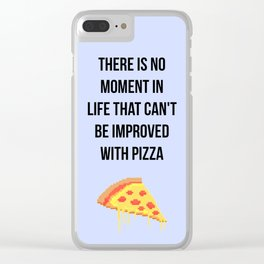 Daria - Pizza Clear iPhone Case