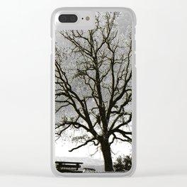 L'arbre de Gourdon Clear iPhone Case