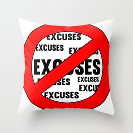 Fitness & Bodybuilding Motivation Quote Throw Pillow