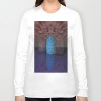 marble Long Sleeve T-shirts featuring Marble by RingWaveArt