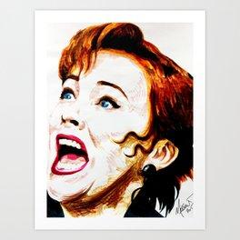 Delia Deetz Art Print