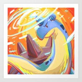 Lapras Art Print