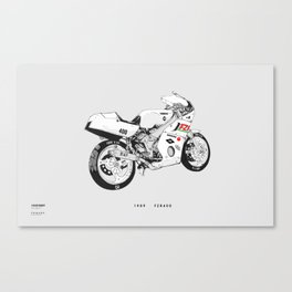 FZR400 Canvas Print