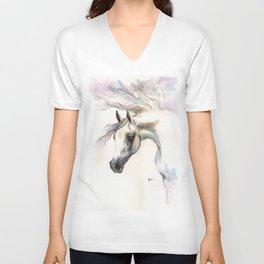 Angelic Horse Unisex V-Neck