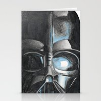 darth Stationery Cards featuring Darth by Michael Hewitt