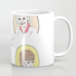 I Heart the Golden Girls Print Coffee Mug