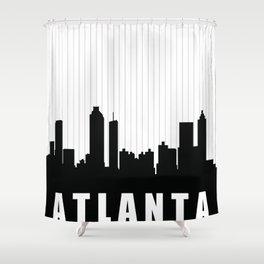 Atlanta Skyline Shower Curtain