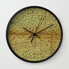 Rusting Panel 02 Wall Clock
