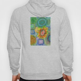 A closer Look at the Flower Universe Hoody