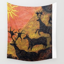 The Ancient Cervine Wall Tapestry