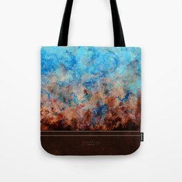Pacific Aether - Original Abstract Art Tote Bag