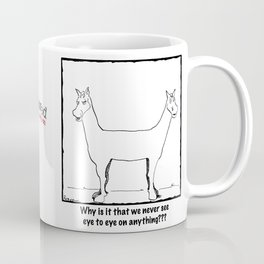 We Never See Eye To Eye Coffee Mug