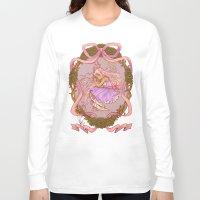 rapunzel Long Sleeve T-shirts featuring Rapunzel  by Joopis