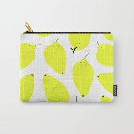 LEMONY WHITE Carry-All Pouch
