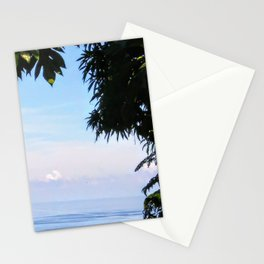 View of Caribbean Sea in Ocho Rios Jamaica Stationery Cards