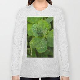 Magical Clover - Lucky Irish Clover Long Sleeve T-shirt