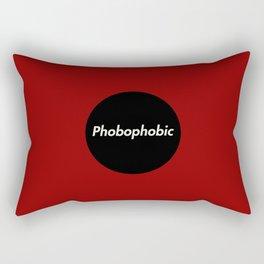 Phobophobic Rectangular Pillow