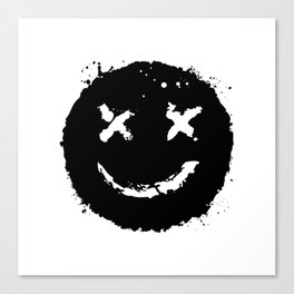 Confused Smile Canvas Print