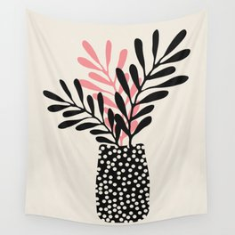 Still Life with Vase and Three Branches Wall Tapestry