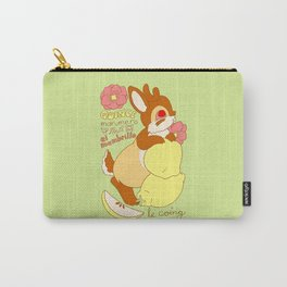 Jackalope and Quince Carry-All Pouch