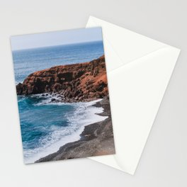 Rural coast of Lanzarote - travel photography Stationery Cards