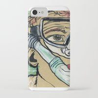 kevin russ iPhone & iPod Cases featuring Kevin Search by K. Fry Illustration