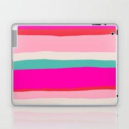 Candy Stripe Christmas Laptop & iPad Skin