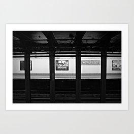 86th Street Art Print
