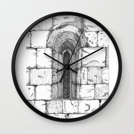 Window Wall Clock