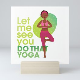 Yoga Mini Art Print