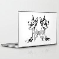 evil queen Laptop & iPad Skins featuring evil queen by vasodelirium