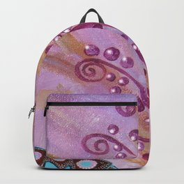 The girl who whispered butterflies Backpack