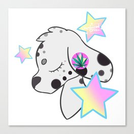 Dooby Dalmation Canvas Print