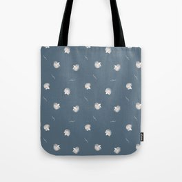 White Fish Fine Pattern Tote Bag