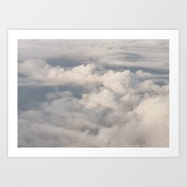 Cloud Collection I Art Print