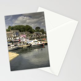 Padstow Harbour Reflected Stationery Cards